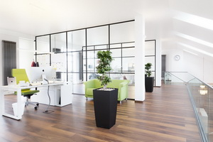 Оформление современного офиса