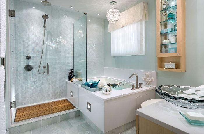 Строительные материалы для отделки ванной