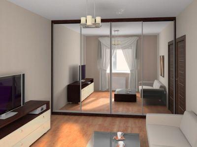 Зеркальные шкафы-купе плюсы и минусы