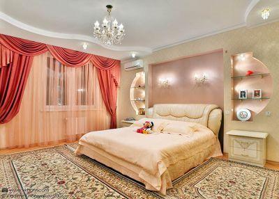 Романтический стиль в спальне