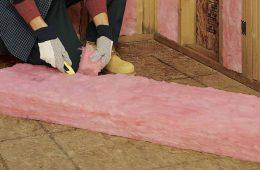 Монтаж утеплителя для стен внутри дома на даче