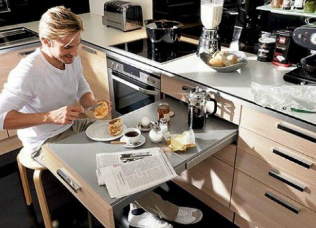 Маленькая кухня: как визуально увеличить пространство