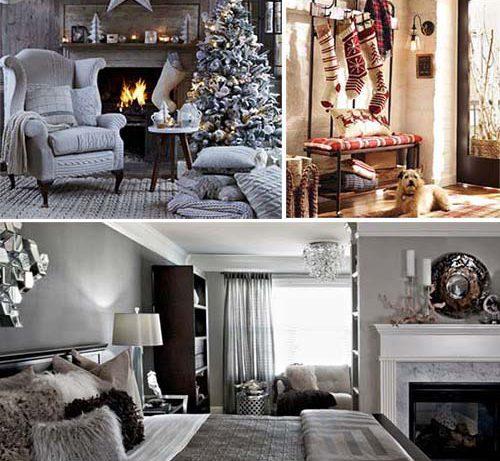 Зимний интерьер для дома