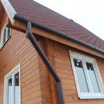 Забота о доме: водосточная система