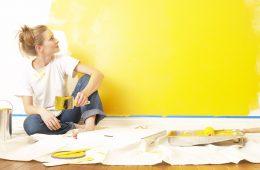 Водоэмульсионная краска для стен и рекомендации по ее нанесению