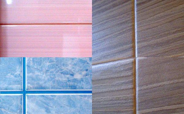 Затирка швов плитки цвета