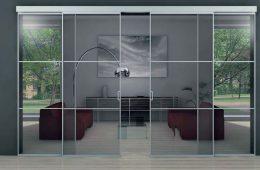 Виды стеклянных дверей