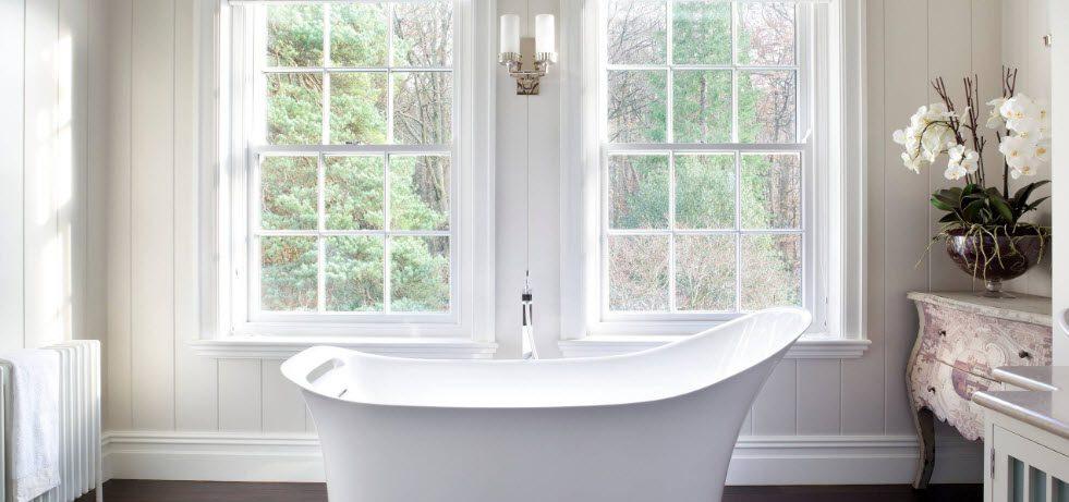 Акриловая ванна: лучшие средства для очистки и ухода