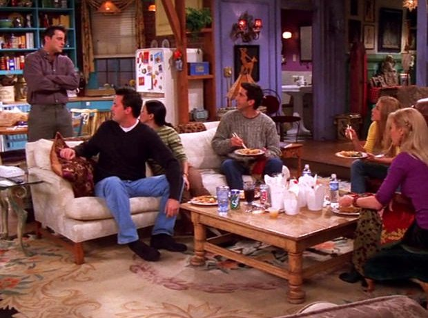 6 приёмов декора, которые мы подсмотрели в сериале «Друзья»