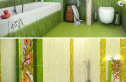 Ванная в салатовом цвете: основные компаньоны