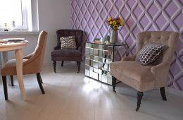 В цветах нежности: квартира для романтичных натур
