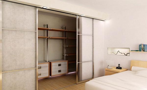 Шкаф-купе — гардеробная