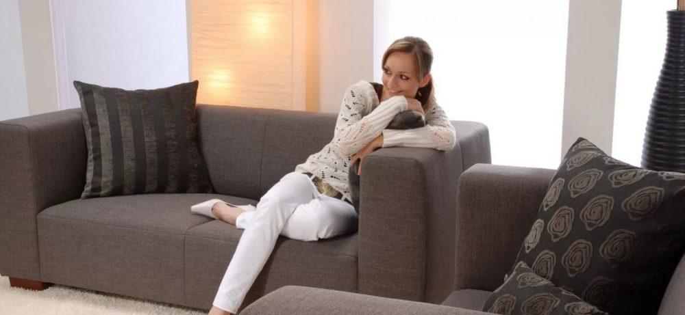 Мягкая мебель в женском интерьере квартиры, уход за мягкой мебелью