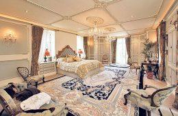 Спальня в стилистике шато: шик и роскошь