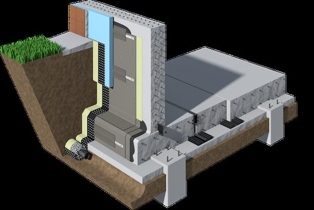 Фундамент сооружения