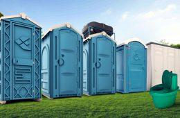 В чем преимущества аренды туалетных кабинок?