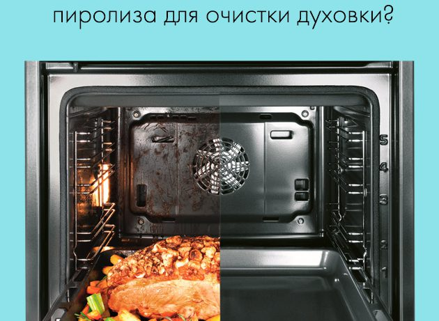 Стоит ли покупать духовку с пиролитической системой очистки?