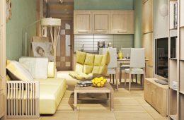 Дизайн маленькой квартиры – советы по оформлению коридора, спальни, зала, кухни и других комнат