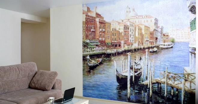 Фреска на стену – что это такое, особенности разных видов, используемые стили