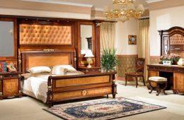 Спальни из дерева — особенности стильного и современного оформлени