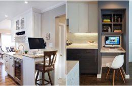 Как втиснуть в кухню…офис, и работать там с комфортом