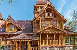 Русский стиль — дома из бруса