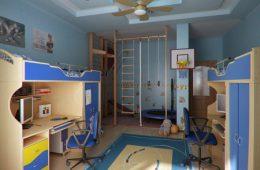 Идеи интерьера детской комната для мальчика