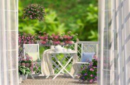 Как оформить балкон на лето – советы дизайнеров
