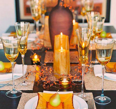 Свечи в бутылках, цветочных горшках и в яблоках: красивый декор к Новому году!