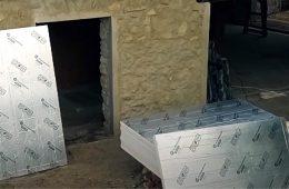 Устройство фасада с pir-плитами