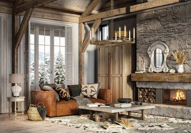 Романтическое шале: идеи дизайна интерьера в альпийском стиле