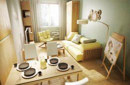 4 главных идеи для маленькой квартиры