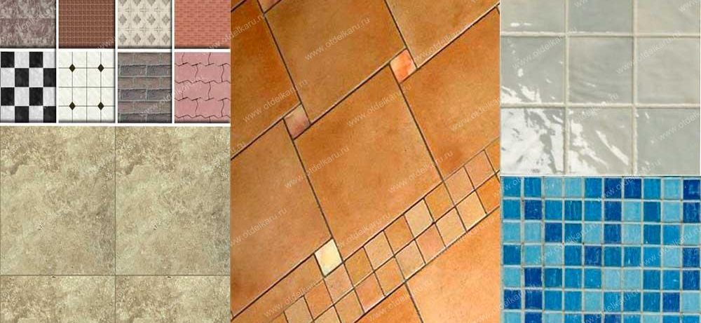 Виды плитки — какие особенности и тонкости