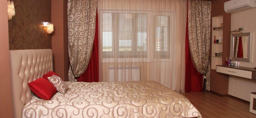 Какие выбрать шторы в спальню в современном стиле
