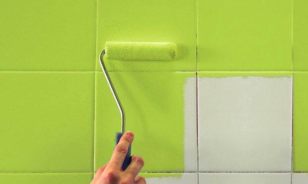 Как обновить ремонт в ванной, не меняя плитку