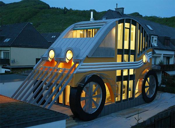 Дом-машина – оригинальный, комфортабельный и очень удобный