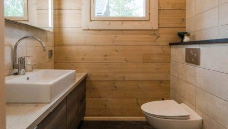Обустройство санузла в деревянном доме