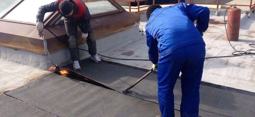 Ремонт плоских крыш