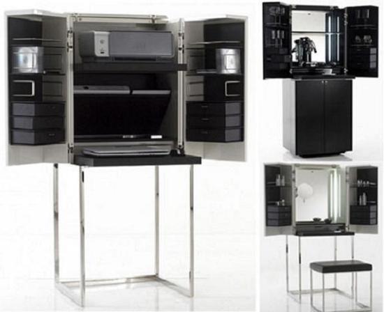 Комбинирование мебели: для дома или для работы?