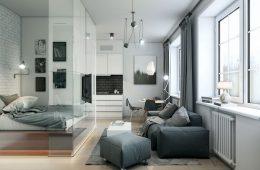 Как правильно организовать пространство однокомнатной квартиры