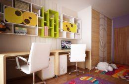 Как превратить детскую в комнату школьника: 3 шага