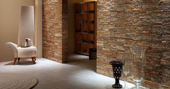 Отделка камнем прихожей — дизайн прихожей с декоративным камнем