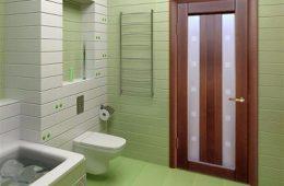 Какие двери в ванную стоит выбрать