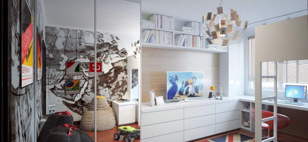 Модульная мебель и встроенная мебель в вашем доме.