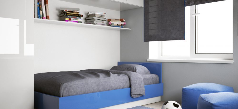 Организация детской комнаты в стиле минимализм