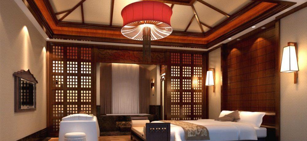 Спальня в римско-китайском стиле – последний писк моды